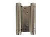 Zawias sprężynowy wahadłowy, dwustronny, L=75mm , niklowany