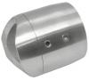 Mocowanie rury Ø33,7mm do słupka Ø42,4mm, AISI 304, szlif ,nierdzewne ,CE