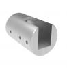 Uchwyt blachy Model 20 , dla słupka Ø42,4mm, AISI 304, szlifowany, nierdzewny, CE