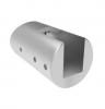 Uchwyt blachy Model 20 , dla słupka Ø42,4mm, AISI 316, szlifowany, nierdzewny, CE