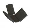 Uchwyt blachy model 20 , dla profilu, AISI 316, polerowany, nierdzewny, CE