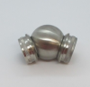 Kolano przegubowe-kula dla rury Ø42,4x2mm, AISI 304, szlifowane, nierdzewne, CE