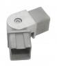 Kolano przegubowe dla profilu 40x40x2mm, AISI 304, szlifowane, nierdzewne, CE