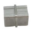 Łącznik dla profilu 40x40x2mm,AISI 316,szlifowany