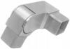 Kolano przegubowe 0°-70°,prawe dla profilu 40x40x2mm,AISI 304,szlifowane, nierdzewne, CE