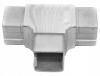 Trójnik dla profilu 40x40x2,0mm,AISI 304,szlifowany, nierdzewny, CE