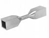 Kolanko do gięcia na zimno dla profilu 10x10mm,AISI304,szlifowane, nierdzewne, CE