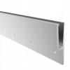 Zaślepka soczewka dla rury Ø42,4x2,0mm,AISI 316,polerowana, nierdzewna, CE