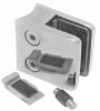 Uchwyt szkła Model 23P , dla słupka Ø42,4mm, AISI 304, polerowany, nierdzewny, CE