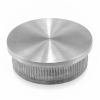 Zaślepka płaska dla rury Ø33,7x2mm, AISI 304, szlifowana, nierdzewna, CE