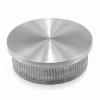 Zaślepka płaska dla rury Ø48,3x2mm, AISI 304, szlifowana, nierdzewna, CE