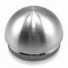Zaślepka wypukła dla rury Ø42,4x2,0mm, AISI 304, szlifowana, nierdzewna, CE