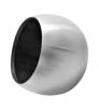 Zaślepka kula dla rury Ø42,4mm, AISI 304, szlifowana, nierdzewna, CE