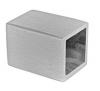 Zaślepka płaska dla drewna 40x40mm,AISI304, szlifowana, nierdzewna, CE