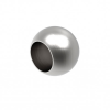 Zaślepka kulka dla rurki Ø12mm, AISI 304, szlifowana