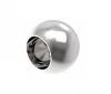 Zaślepka kulka dla rurki Ø12mm,AISI 304, polerowana , nierdzewna , CE