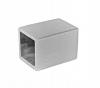 Zaślepka dla profilu 10x10 mm,AISI 304, szlifowana