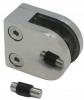 Uchwyt szkła model 20 , dla profilu, AISI 304, polerowany, nierdzewny, CE