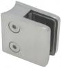 Uchwyt szkła model 21 , dla słupka Ø42,4mm, AISI 304, polerowany, nierdzewny, CE