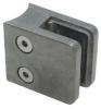 Uchwyt szkła model 21 , dla słupka Ø42,4mm, ZAMAK, surowy, CE