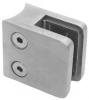 Uchwyt szkła model 21 , dla słupka Ø33,7mm, AISI 304, szlifowany, nierdzewny, CE