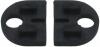 Komplet (2szt) gumek do szkła 4 mm,dla uchwytu model 28, CE