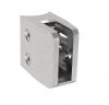 Uchwyt szkła Model 26 , dla słupka Ø42,4mm, AISI 304, szlifowany, nierdzewny,CE