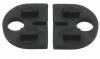 Komplet (2szt) gumek dla szkła 10mm,dla uchwytu Model 20, CE