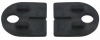 Komplet (2szt) gumek dla szkła 8mm,dla uchwytu Model 22, CE