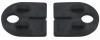 Komplet (2szt) gumek dla szkła 12mm,dla uchwytu Model 25, CE