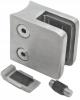 Uchwyt szkła Model 23P , dla słupka Ø 48,3mm, AISI 304, szlifowany, nierdzewny, CE