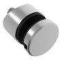 Uchwyt szkła Model 46 ,(ROTUL) dla słupka Ø42,4mm, AISI 304, szlifowany, nierdzewny, CE