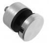 Uchwyt szkła Model 46 ,(ROTUL) dla profilu , dystans15mm, AISI 304, szlifowany, nierdzewny, CE