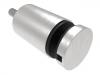 Uchwyt szkła Model 46 ,(ROTUL) dla profilu,dystans50mm, AISI 304, szlifowany, nierdzewny, CE