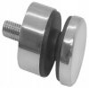 Uchwyt szkła Model 46 ,(ROTUL) dla profilu, dystans15mm, AISI 304, polerowany, nierdzewny, CE