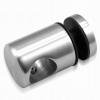 Uchwyt szkła Ø25mm dla pręta Ø16mm, AISI 304, szlifowany, nierdzewny, CE