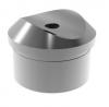 Podpora (krótka) poręczy Ø42,4mm dla słupka Ø42,x2mm,AISI 304, polerowana, nierdzewna, CE