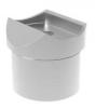 Podpora (krótka) poręczy Ø42,4mm dla słupka Ø42,x2mm,AISI 316, szlifowana, nierdzewna, CE