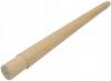 Wałek DĄB dla słupka Ø42,4x2mm, 2 czopy, szlifowany