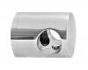 Uchwyt przelotowy rurki Ø12/profil, AISI 304, polerowany, nierdzewny, CE