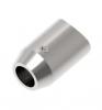 Uchwyt osiowy rurki Ø12/42,4mm, AISI 304, szlifowany, nierdzewny, CE
