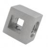 Uchwyt przelotowy ( mały ) 10x10/profil, AISI 304, szlifowany, nierdzewny, CE
