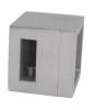 Uchwyt prawy 15x5/profil, AISI 304, szlifowany, nierdzewny, CE