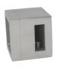 Uchwyt lewy 15x5/profil, AISI 304, szlifowany, nierdzewny, CE