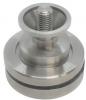 Zestaw montażowy słupka ( wkładka ) Ø42,4x2mm, AISI 304, szlifowany, nierdzewny, CE