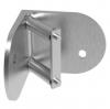 Mocowanie narożne-wewnętrzne słupka Ø42,4mm, AISI 316, szlifowane, nierdzewne, CE