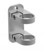 Mocowanie boczne obejma 120x50mm/Ø42,4mm, AISI 304, szlifowane, nierdzewne, CE