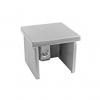 Zaślepka poręczy 40x40x1,5 mm, AISI 304, szlifowana, nierdzewna, CE