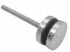 Uchwyt szkła Model 42 ,(ROTUL) dla profilu,dystans 10mm, AISI 304, szlifowany, nierdzewny, CE