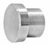 Zaślepka płaska dla rurki Ø12x1,5 mm, AISI 304, szlifowana